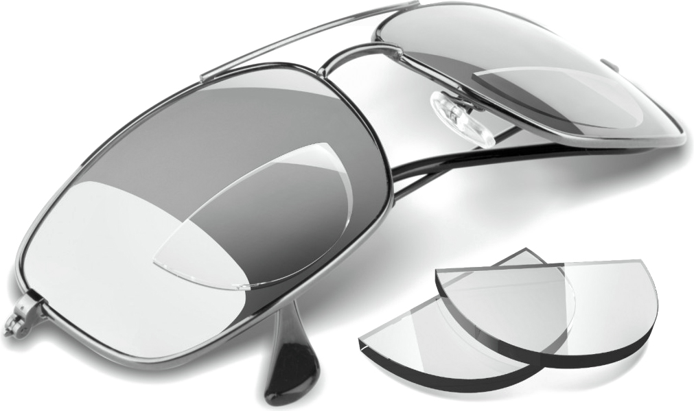 bifocal glasses  Hydrotac (formerly Optx 20/20) Stick On Bifocal Reading Lenses for ...