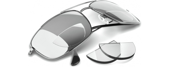 Clear Hydrotac Formerly Optx 2020 Stick On Bifocal Reading Lenses