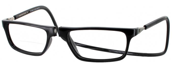 248dabad3ae Black Clic Executive Bifocal Magnetic Reading Glasses ...