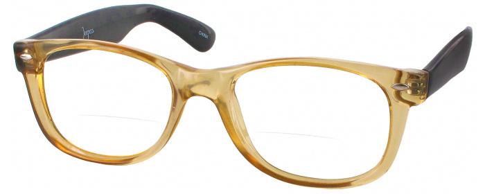 04c6804e8e5 Amber Black Rat Pack Bifocal - ReadingGlasses.com