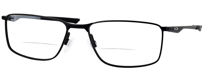 850f938382f Satin Black Oakley OX 3217 Bifocal - ReadingGlasses.com