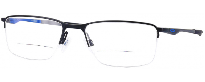 18774fdea0 Satin Black Oakley OX 3218 Bifocal - ReadingGlasses.com