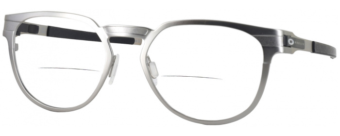 86263098cc Satin Chrome Oakley OX 3229 Bifocal - ReadingGlasses.com