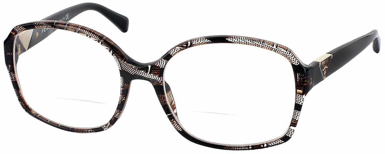 Prada Reading Glasses Frame : Prada 12NV Bifocal - ReadingGlasses.com