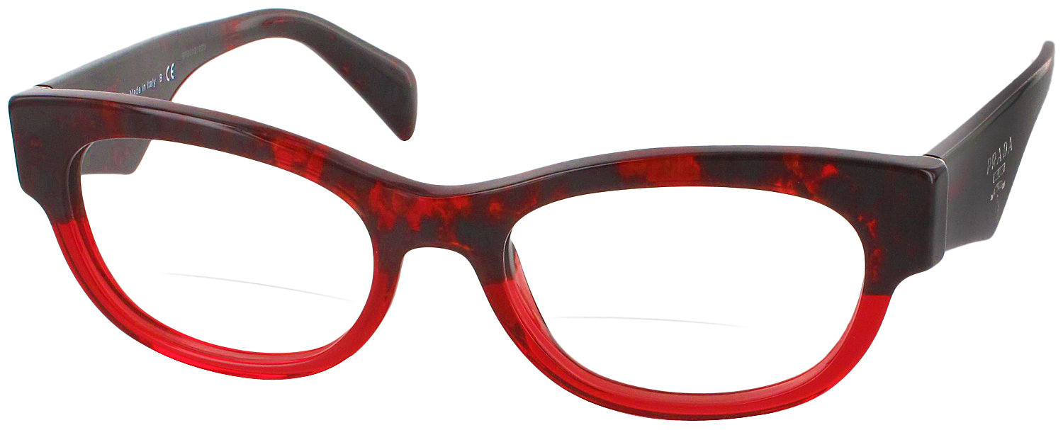 Prada 13QV Bifocal - ReadingGlasses.com