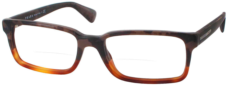 Prada Reading Glasses Frame : Prada 15QV Bifocal - ReadingGlasses.com