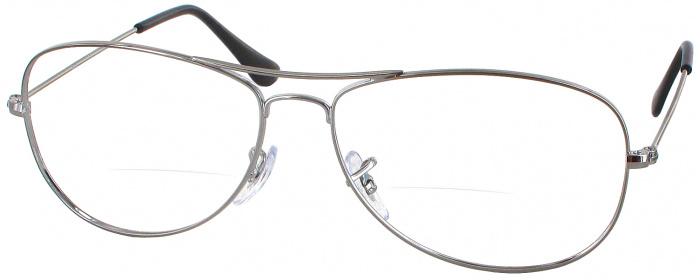 520e7647167a Gunmetal Ray-Ban 3362 001 Bifocal - ReadingGlasses.com