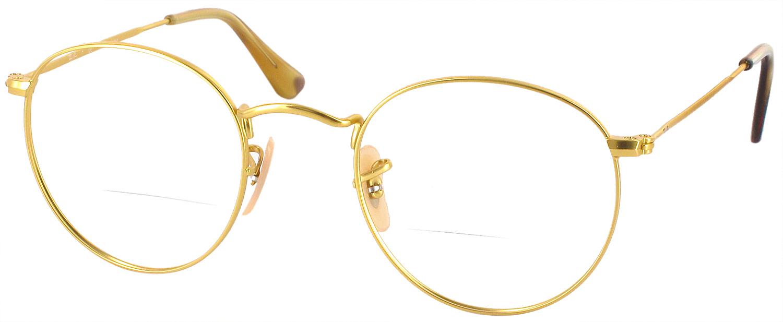 Ray Ban Glasses Gold Frame : Ray-Ban 6242 Bifocal - ReadingGlasses.com