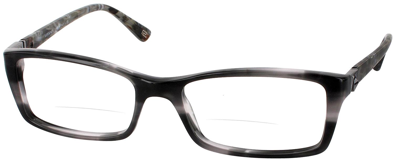 Versace Reading Glasses Frame : Versace VE 3152L Bifocal - ReadingGlasses.com