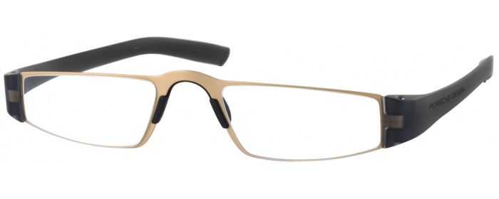 f53019c92a2e Gold Black Porsche 8801 Reading Glasses by Porsche Design at ...