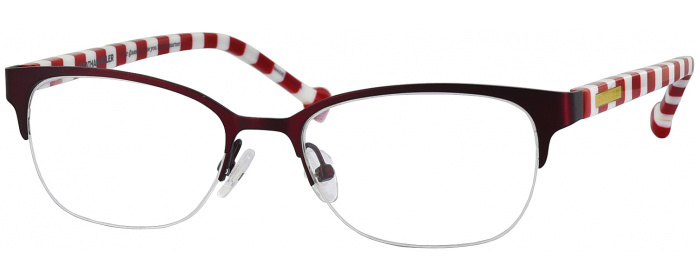 Burgundy Jonathan Adler 109 Single Vision Full Frame ...