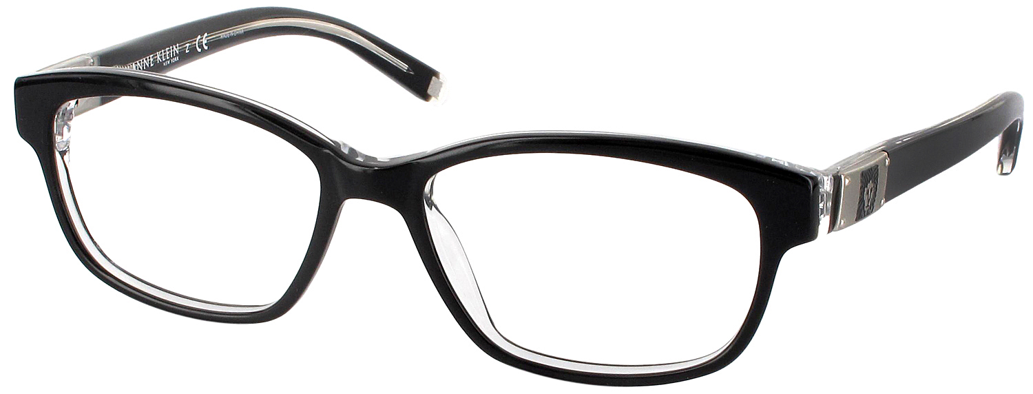 Total Frame Width Glasses : Anne Klein 8106 Single Vision Full Frame - ReadingGlasses.com