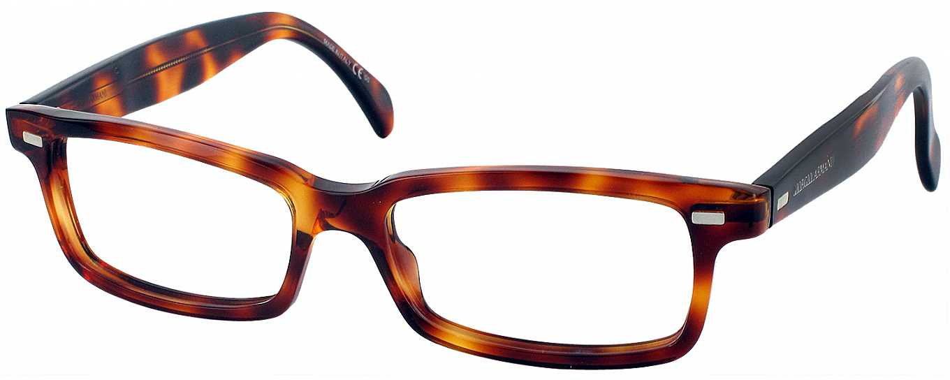 Armani Reading Glasses Frames : Giorgio Armani 822 Single Vision Full Frame ...