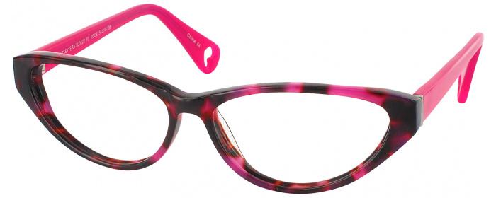 00bb6bcccef Rose Betsey Johnson Betsey Era Single Vision Full Frame ...