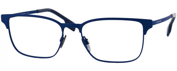 aab52123e7ffb Blue Rubber Burberry 1332 Single Vision Full Frame - ReadingGlasses.com