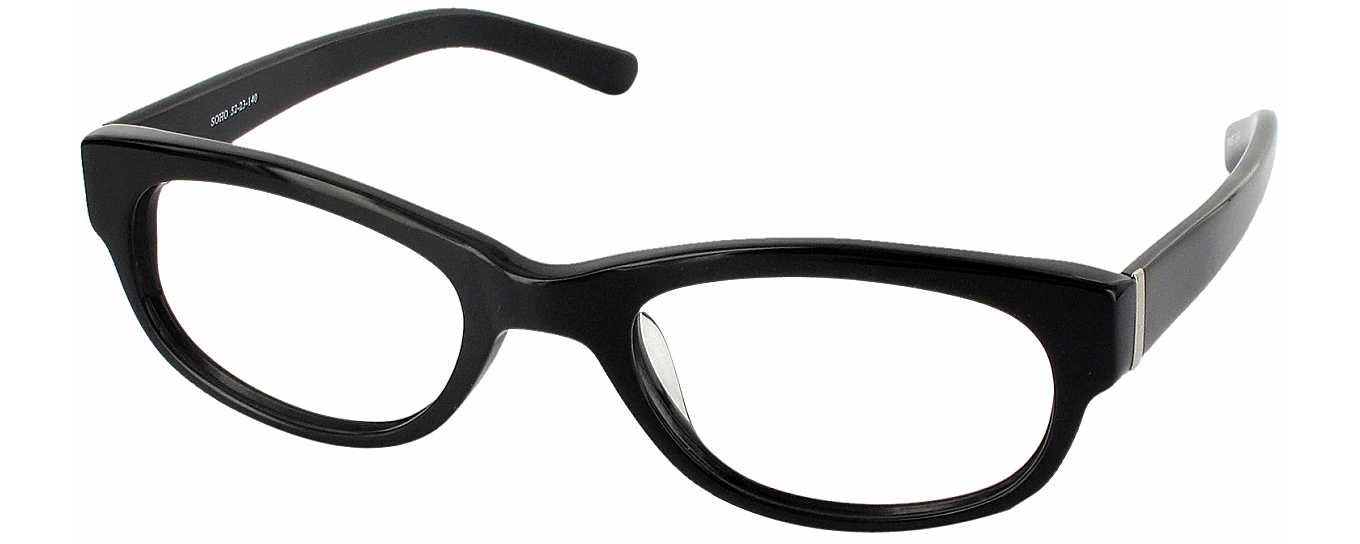 Soho Full Frame Reading Glasses at ReadingGlasses.com ...