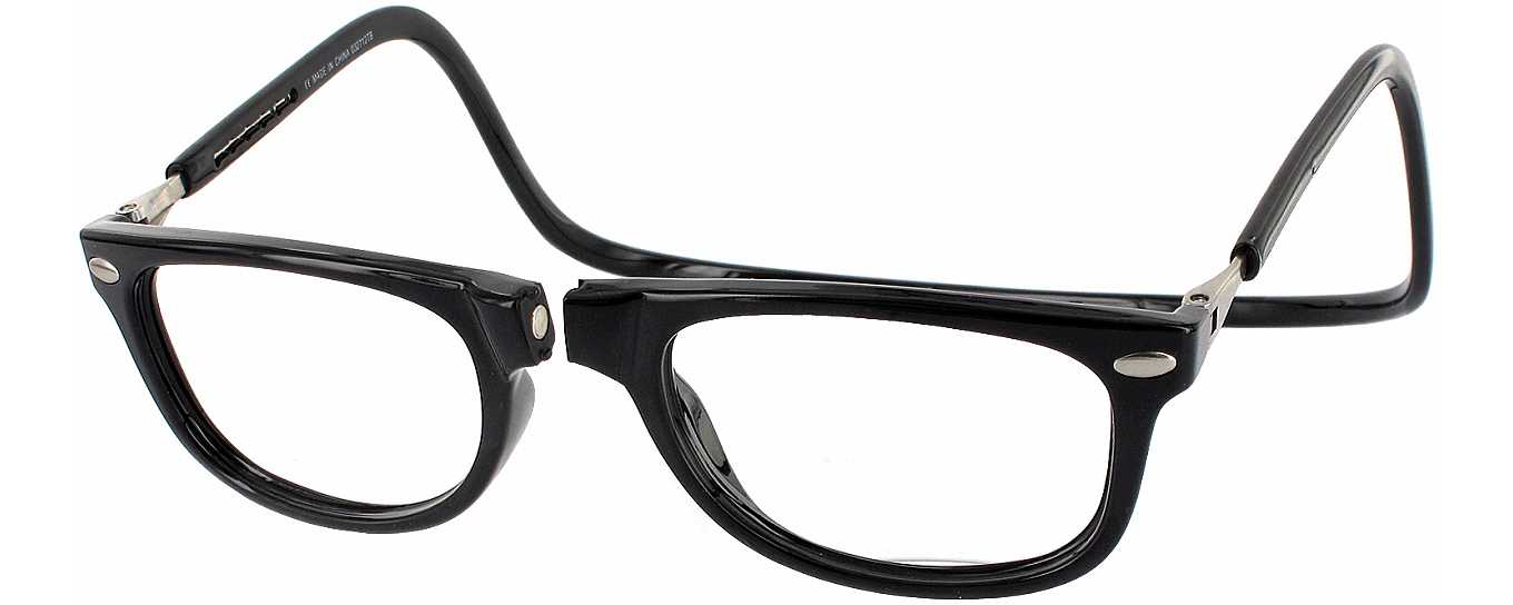 Reading Glasses No Frame : Clic Ashbury No Line Bifocal Magnetic Reading Glasses ...