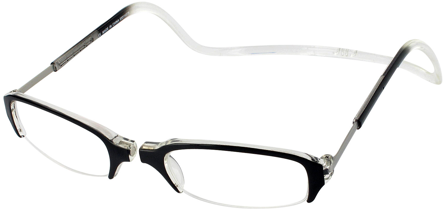 Clic Semi-Rimless Magnetic Reading Glasses ...