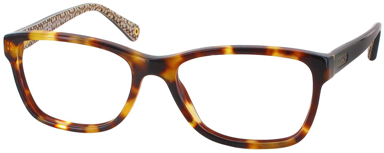 Coach Eyeglass Frames Hc6013 : Coach HC 6013 Single Vision Full Frame - ReadingGlasses.com