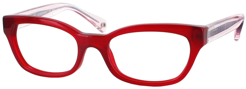 Coach Petite Eyeglass Frames : Coach HC 6042 Petite CL - ReadingGlasses.com