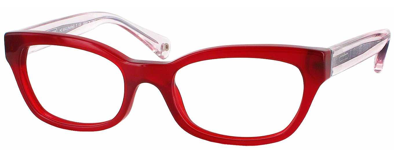 Coach Petite Eyeglass Frames : Coach HC 6042 Petite Single Vision Full Frame ...