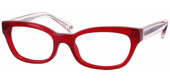 Coach Petite Eyeglass Frames : Rectangle Frame Eyeglasses - ReadingGlasses.com