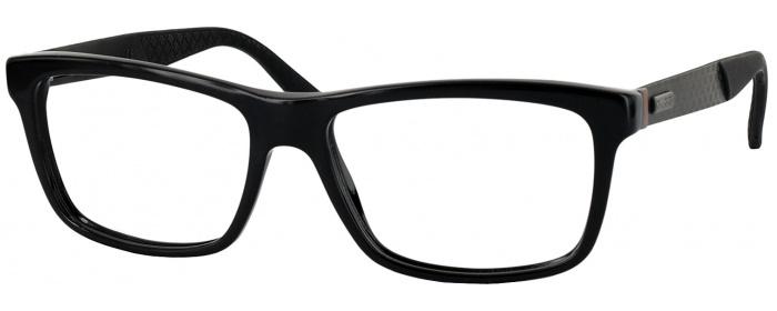 023e3a85e7a Black GUCCI 1045-N Single Vision Full Frame - ReadingGlasses.com