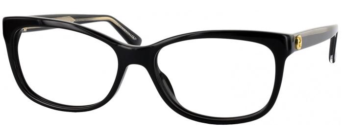 Black Crystal Gucci 3822 Single Vision Full Frame Readingglasses