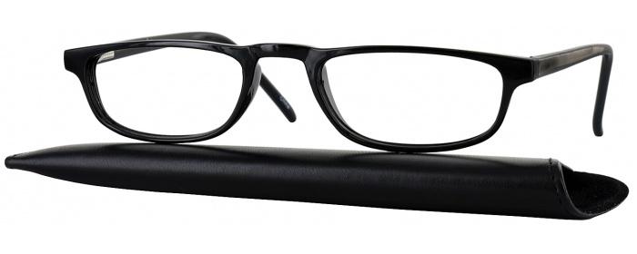 06ce4ad5e761 Black Socrates Single Vision Half Frame - ReadingGlasses.com