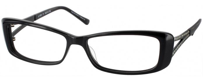 dbc448a43b1 Onyx Judith Leiber R91588 Single Vision Full Frame