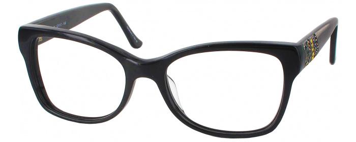 a1c0813394 Marquetry Onyx Judith Leiber R91669 Progressive No Line Bifocal ...