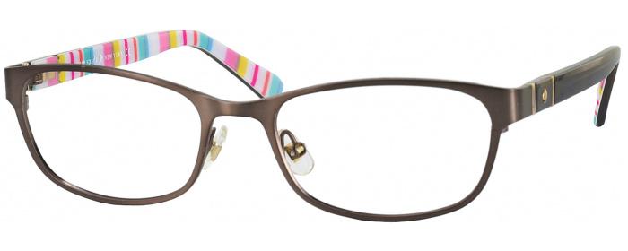 049a21f3c8 Brown Kate Spade Jayla Single Vision Full Frame - ReadingGlasses.com