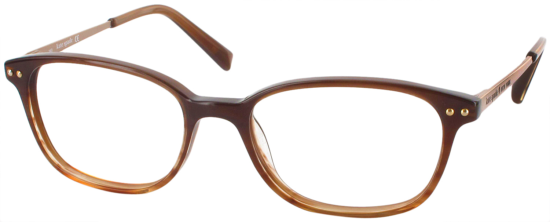 Kate Spade Manuela Eyeglass Frames : Kate Spade Manuela Single Vision Full Frame ...