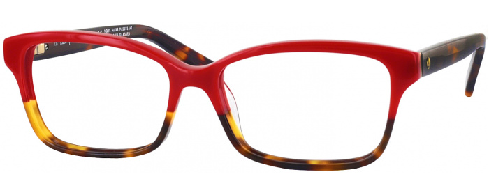 13a1985c04b Red Tort. Fade Kate Spade Sharla Single Vision Full Frame ...