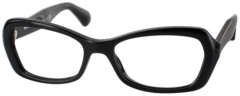 Best No Frame Glasses : Miu Miu 01IV Progressive No Line Bifocal - ReadingGlasses.com