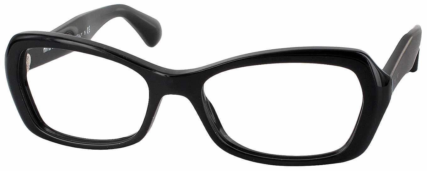 Reading Glasses No Frame : Miu Miu 01IV Progressive No Line Bifocal - ReadingGlasses.com