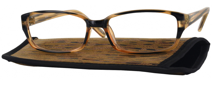 f680e8d1150bae Earthly Brown Bella No Line Bifocal - ReadingGlasses.com
