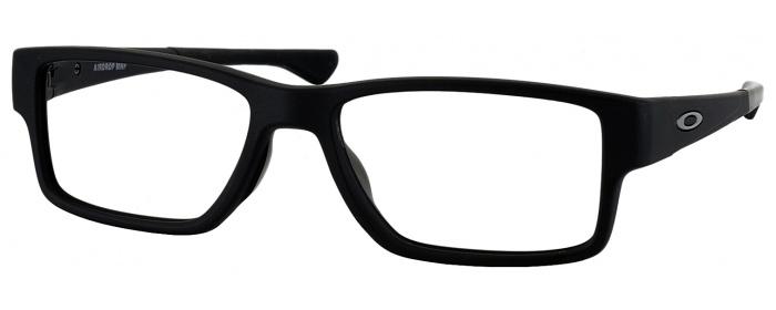 74251f633b0a4 Satin Black Oakley OX 8121 Progressive No Line Bifocal ...