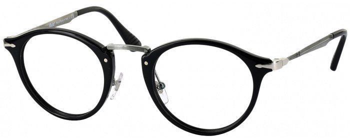 dd2c7579b0 Black Persol 3167V Progressive No Line Bifocal - ReadingGlasses.com