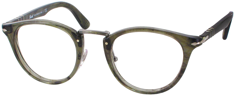 Reading Glasses With No Frame : Persol 3107V Progressive No Line Bifocal - ReadingGlasses.com