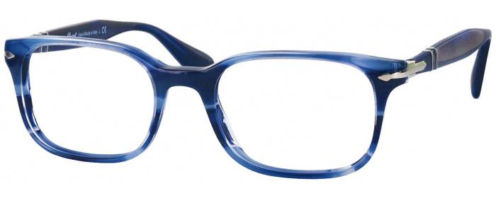 1be08f4f9275c Striped Blue Persol 3118V Progressive No Line Bifocal ...