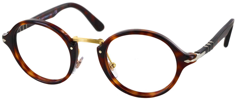 Glasses Frames Narrow Face : Persol 3128V Progressive No Line Bifocal - ReadingGlasses.com
