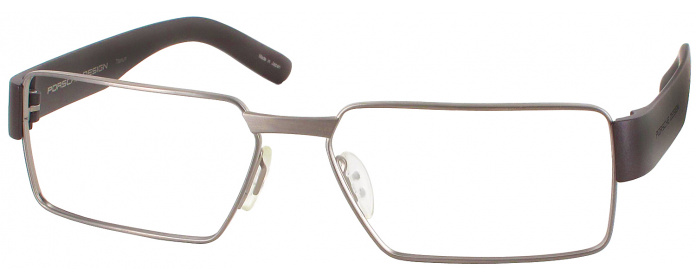 80a2648b74b5 Matte antique bronze Porsche 8204 Single Vision Full Frame ...