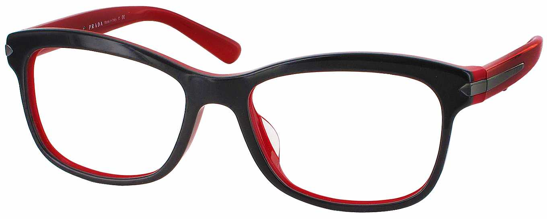 Prada Reading Glasses Frame : Prada 10RVF Progressive No Line Bifocal - ReadingGlasses.com