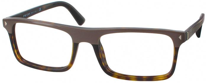944c45ce540 Grey havana Prada 02RV Single Vision Full Frame - ReadingGlasses.com