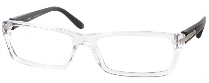 97cc86260792 Crystal Prada 05NV Single Vision Full Frame - ReadingGlasses.com