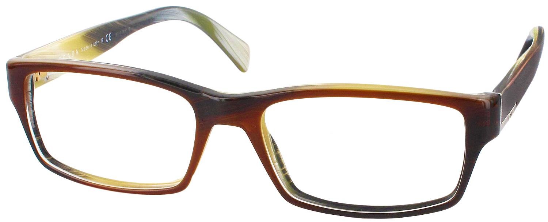 Prada Reading Glasses Frame : Prada PR-06OV Single Vision Full Frame - ReadingGlasses.com