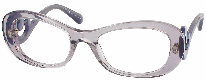 Frame Width Glasses : Prada 09PV Single Vision Full Frame - ReadingGlasses.com