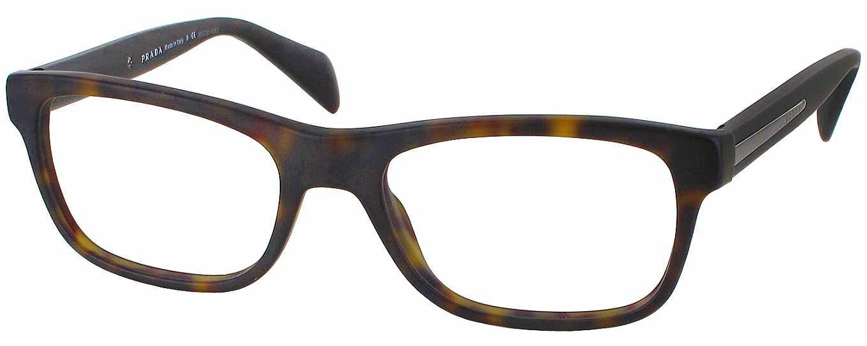 Prada Reading Glasses Frame : Prada 19PV Single Vision Full Frame - ReadingGlasses.com