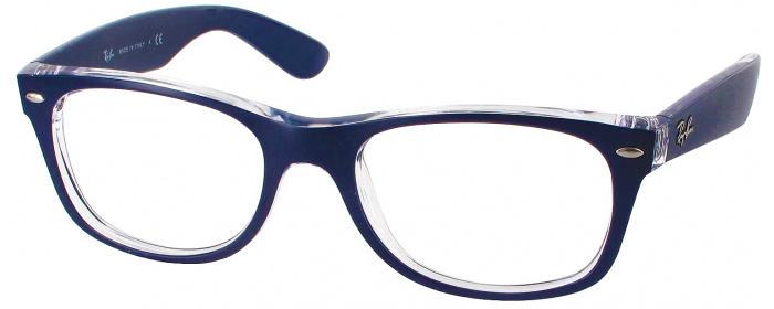 Matte Blue Ray-Ban 2132 Full Frame - ReadingGlasses.com